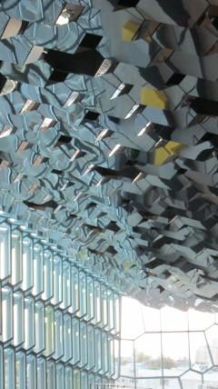 Myös Harpan katto on aivan omanlaisensa
