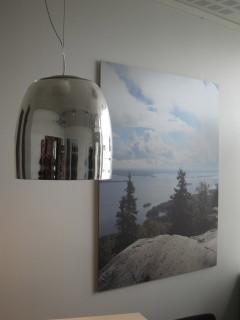 Sisustuspisteestä saa myös valaistussuunnittelua ja valaisimia.