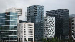 Näissä rakennuksissa saa yritykselle komeat puitteet.