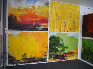 Taiteilijatalli – messujen kiinnostavin osasto